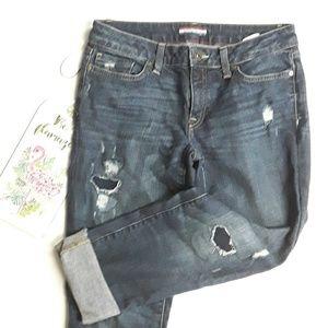 {Tommy Hilfiger}Boyfriend Distress Ankle Jeans 2